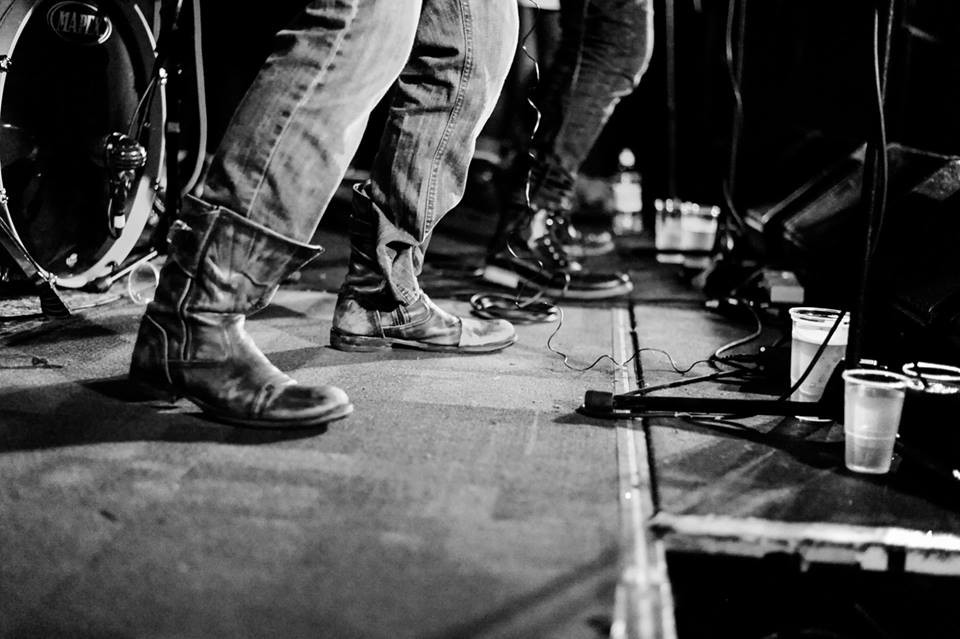 Imprints pirate boots