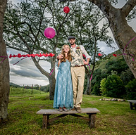 Andrew & Landia's Rainbow Wedding