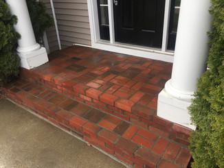 Brick Step Restoration
