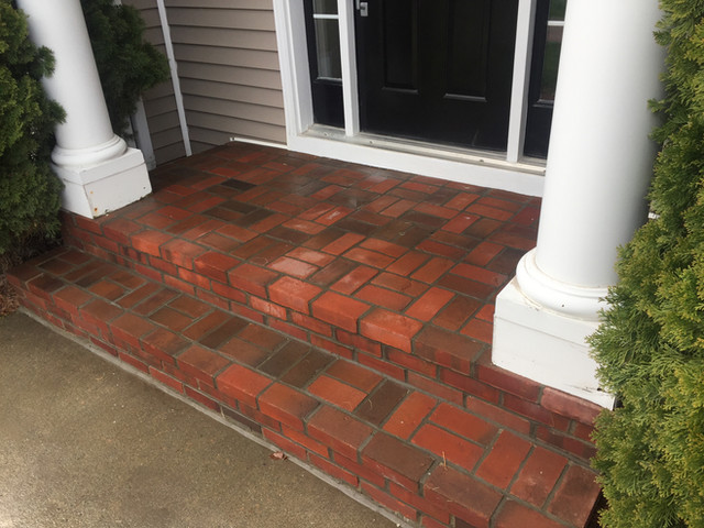 Brick Step Restoration