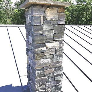 Stone Chimney Veneer