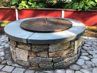 Custom Stone Firepit