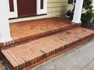 Brick Step and Landing