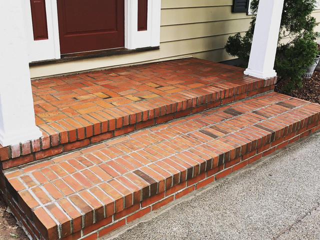 Brick Step and Landing