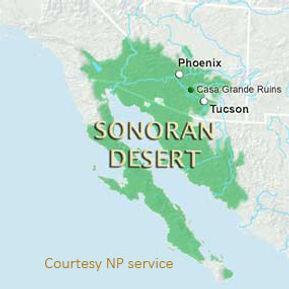 sonora desert range