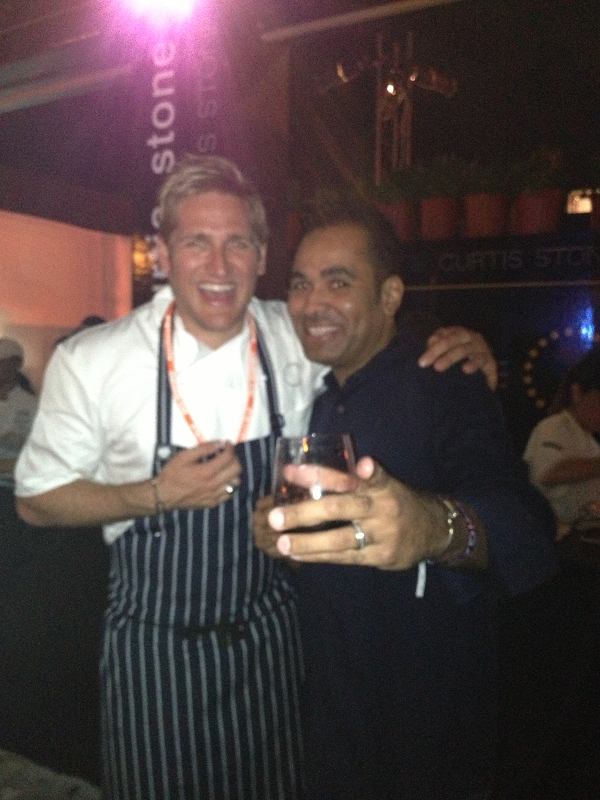 Rob and Chef Curtis Stone