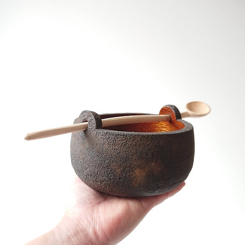 Set of Urushi Bowl and Spoon