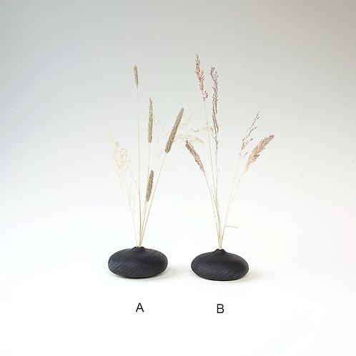 Scorched Iroko Bud Vase