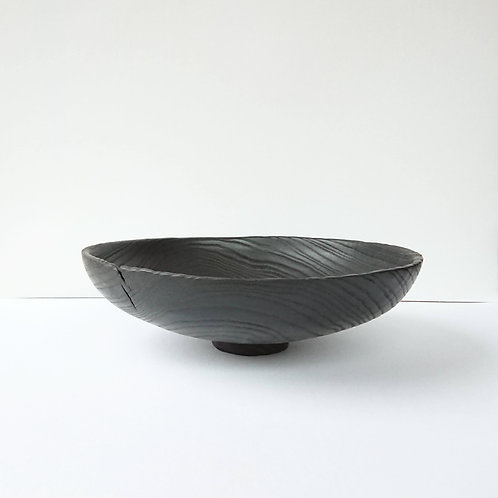 Scorched Urushi Bowl