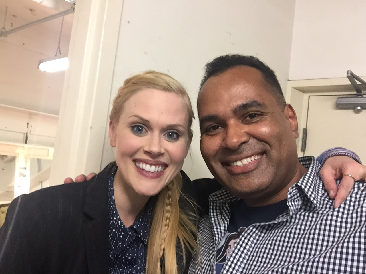 Rob and Janet Varney