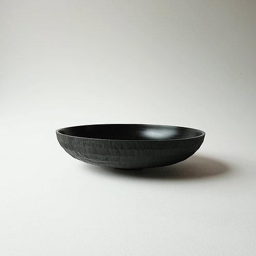 Black urushi bowl