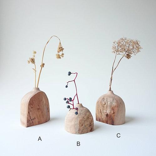 Live Edge Bud Vase