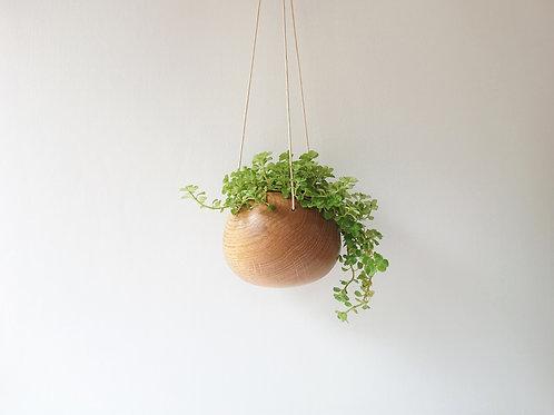 Oak Hanging Planter