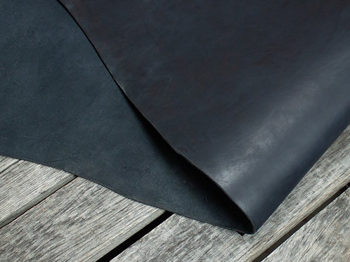 Black Skirting Leather Detail