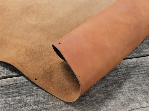 Milled Strap Leather Rolled