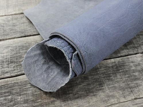Lavender Shrunken Bison Leather 6-7oz