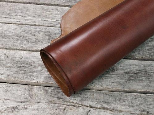 Yellow Bison Latigo Leather Rolled