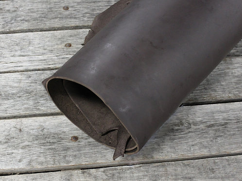 Dipped Russet Harness Leather Rolled