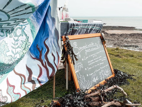 September seaweed foraging, feasting and potions...