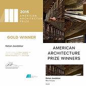 Studio K7 - American Architecture Prize Winner