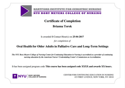 BTorok Geriatric Care online assignment 1