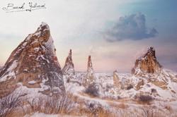 Kapadokya-Kar