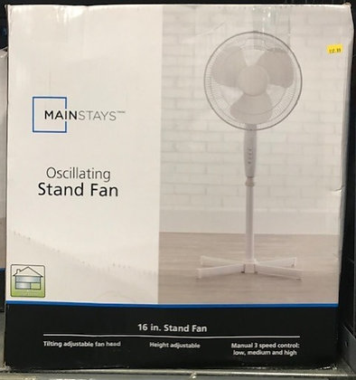 Mainstays Oscillating Stand Fan
