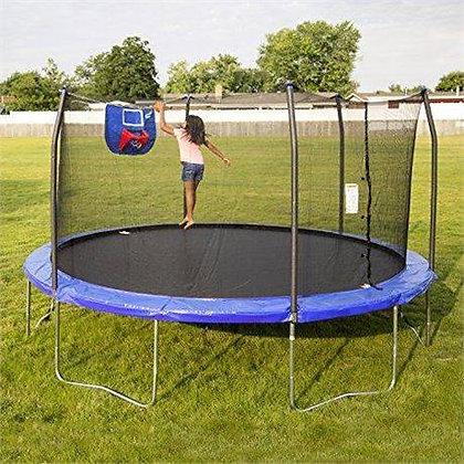 Skywalker Jump N' Dunk Trampoline and Basketball Hoop