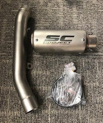 SC Project MotoGP Exhaust Technology