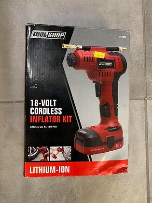 Tool Shop 18V Cordless Inflator Kit