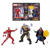 Marvel Studios: The First Ten Years Avengers: Infinity War Figures 3-Pack