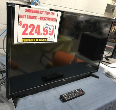 "Samsung 32"" 720P LED (NOT SMART) TV"