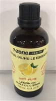 100% Pure Organic Lemon Essential Oil