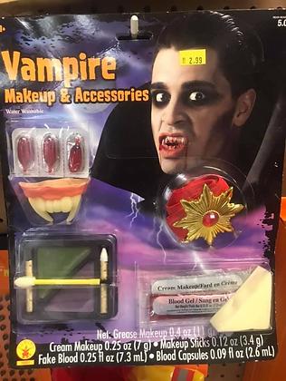Vampire Makeup & Accessories