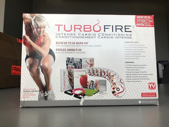 Turbo Fire Intense Cardio Conditioning