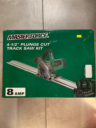 "Masterforce 4-1/2"" Plunge Cut Track Saw Kit"