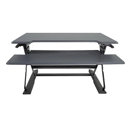 Victor High Rise Height Adjustable Standing Desk with Keyboard Tray (DCX760)