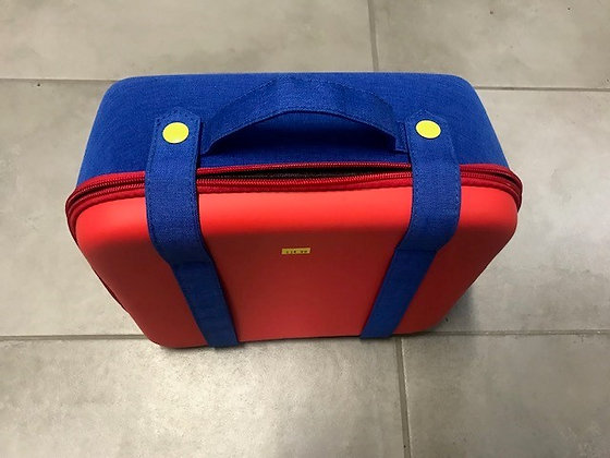 Red, Blue & Yellow Gamer Carrying Case
