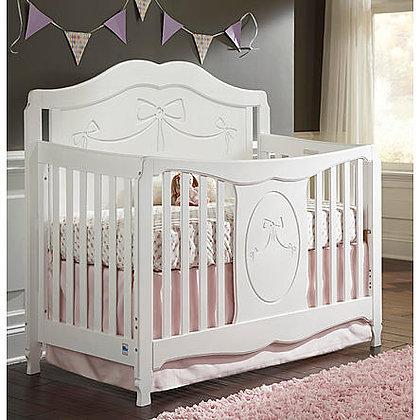 Storkcraft Princess Fixed Side Convertible Crib