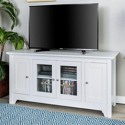 "52"" Wood TV Media Stand Storage Console"