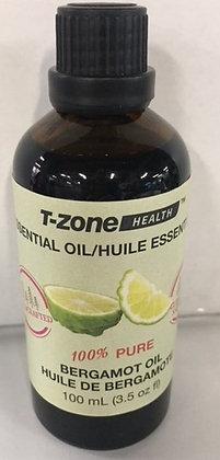 100% Pure Organic Bergamot Essential Oil