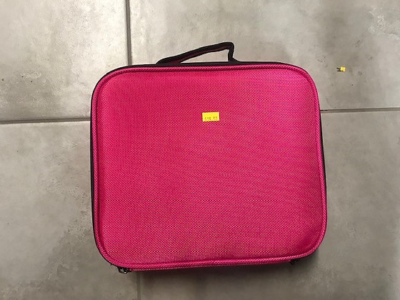 Small Pink Makeup Carry Case