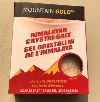 250 G Mountain Gold Himalayan Crystal Salt