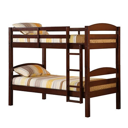 Walker Edison Traditional Solid Wood Bunk Bed