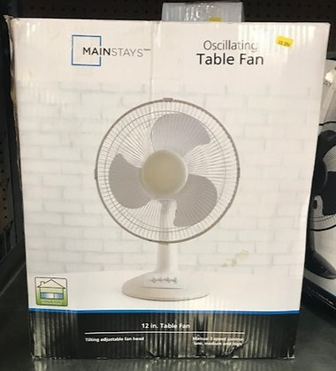 Mainstays Oscillating Table Fan