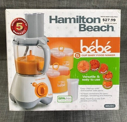 Hamilton Beach 5 Cup Baby Food Maker