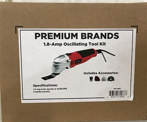 Premium Brands 1.8Amp Oscillating Tool Kit