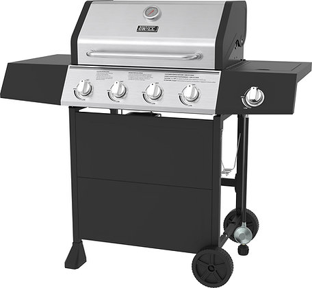 Backyard Grill 4 Burner Propane BBQ with Side Burner- 720-0789D