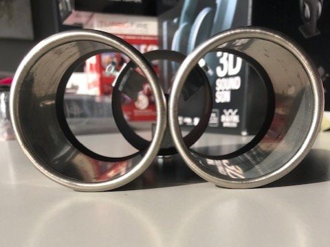 Stainless Steel Dual Exhaust Tip