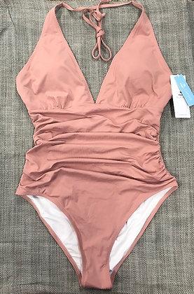 Halter Top One-Piece Bathing Suit